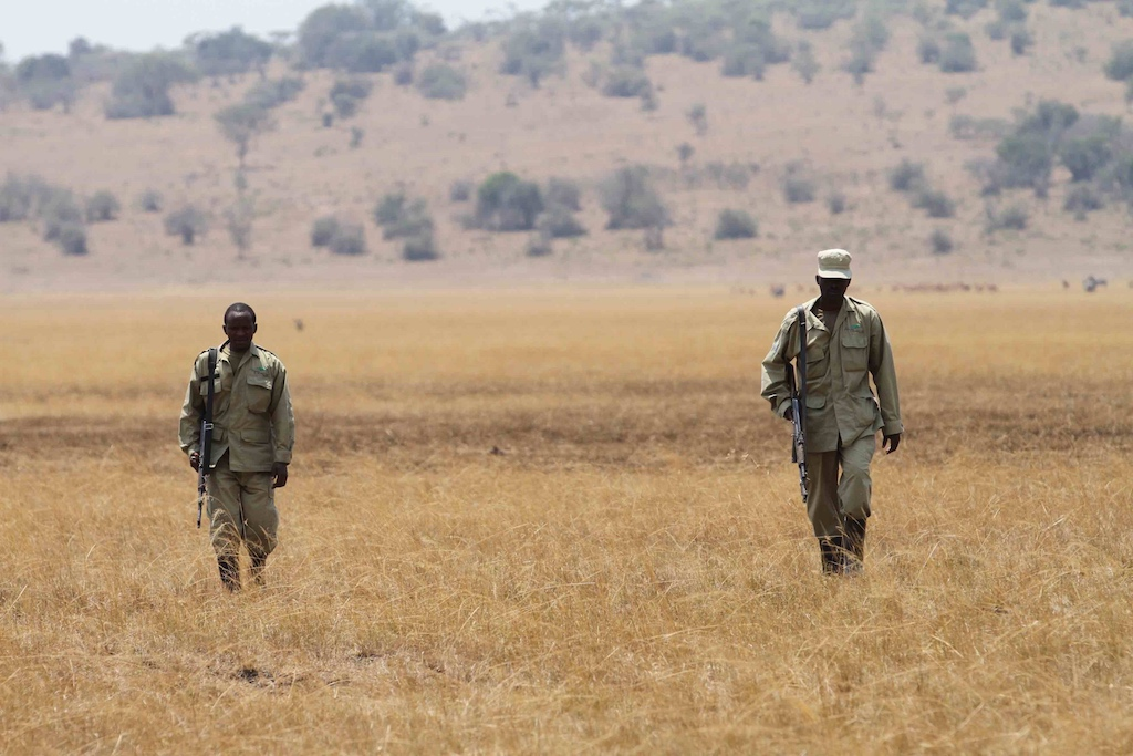 Rangers on patrol Kilala Jes Gruner reduced
