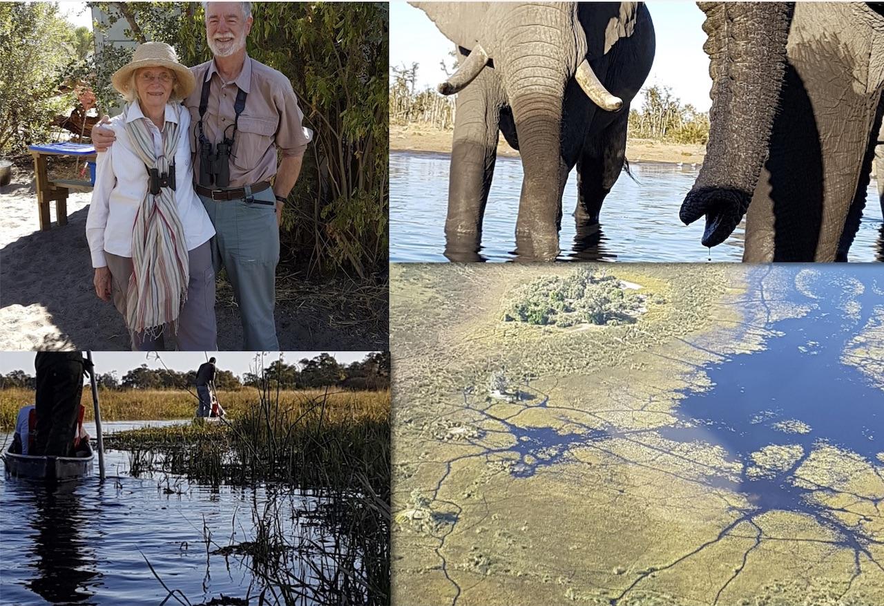 Peter and Margaret safari