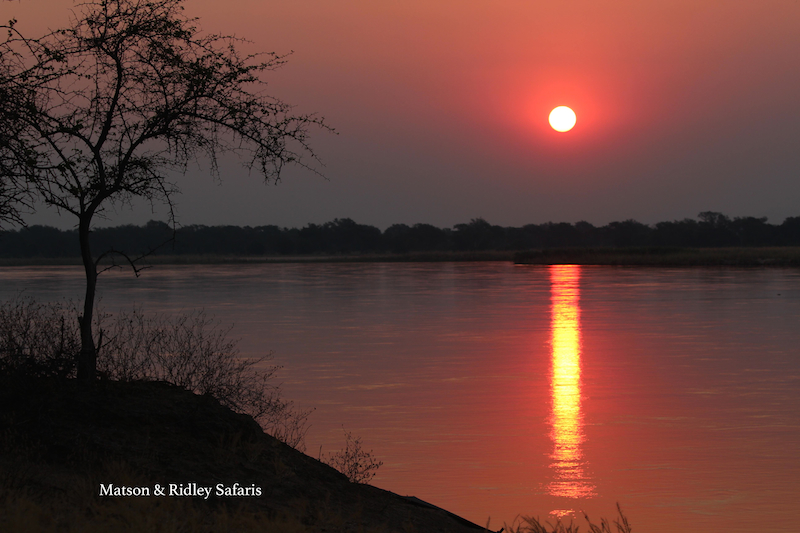 resized sunset Zambezi