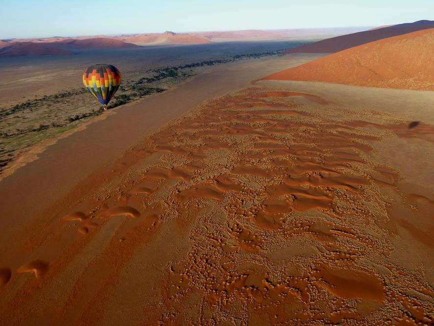 Namib Sky hot air ballooning