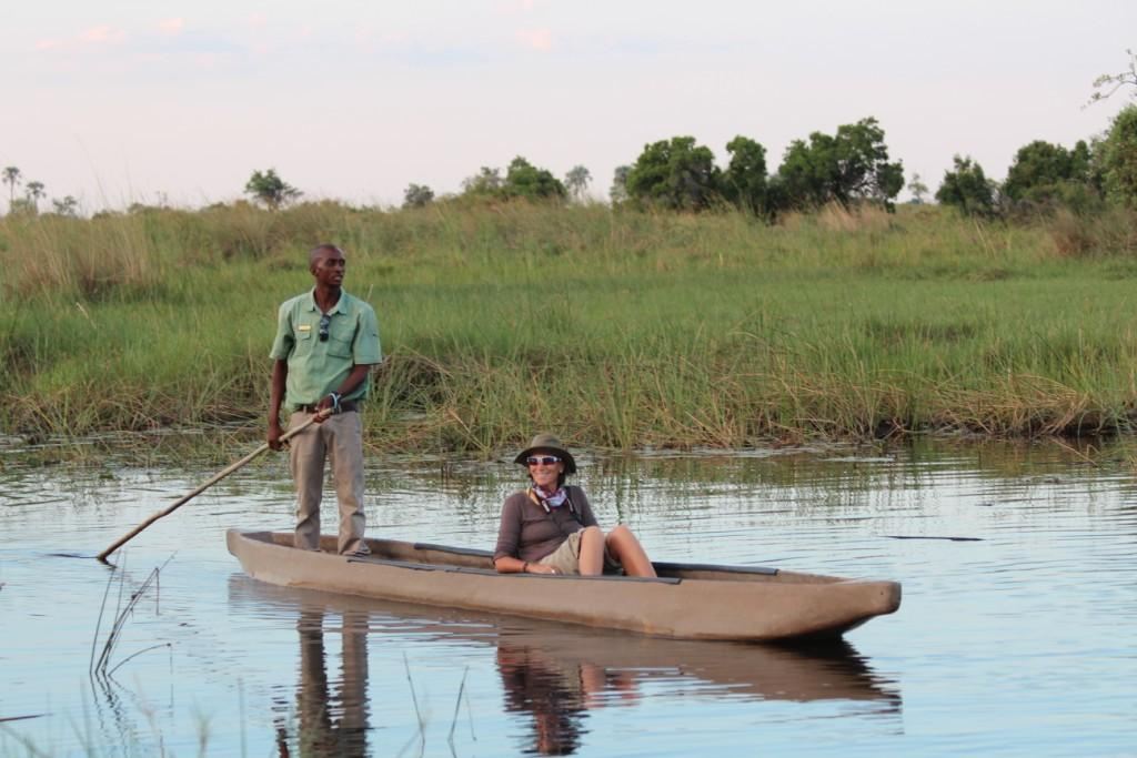 Seeing the Delta from a mokoro is a must-do experience and incredibly peaceful. Last time we were lucky enough to see some sitatunga!